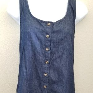 Volcom Womens Denim Tank Top